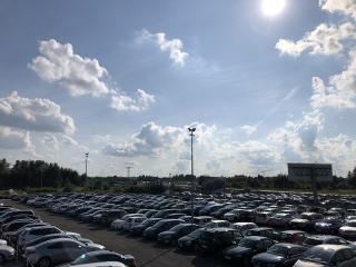 Parking A1 Katowice-Pyrzowice